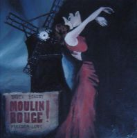 Moulin Rouge - oils by samsamthedrummerman
