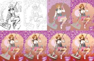 Nora Valkyrie: Forever Fall PROGRESS by whitty-boo