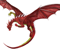 Red Dragon incomplete...yet by wiliam-bc