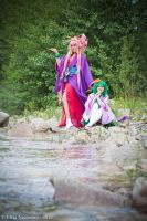 Sheryl Nome and Ranka Lee (Kimono Version) by oShadowButterflyo