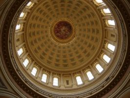 Wisconsin State Capitol Dome, Madison, WI by PoultryChamp