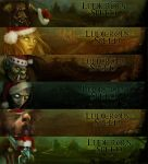 Horde Races Winter Veil by jezebel