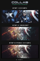 Callab - KnyazFA and Ghost | captain America by VenGhost