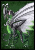Forest Dragon by Niicchan