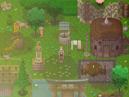 RPG Maker XP Map by Firephoenix93
