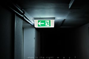 choose the right way.. by thenata