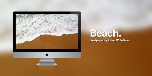 Beach Wallpaper by osullivanluke