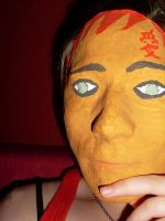 Gaara Mask by TheFlyingHeart