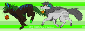 Happy birthday bby~ by Sector-C13