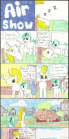 MLP FIM comic  Airshow Page 1 by Greattie