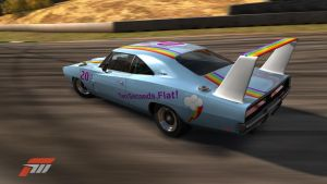 Rainbow Dash's Charger by Brony-Marigold