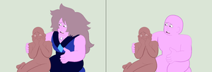 An Amethyst and a Human Base by TFAfangirl14