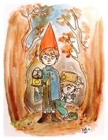 Over the garden wall by Bele-xb7