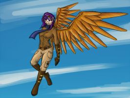 Steampunk Scootaloo by bingodingo