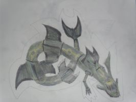 Rayquaza by SuperSonicFireDragon