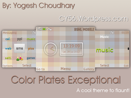 Color Plates Exceptional Theme for Nokia 320x240 by cyogesh56