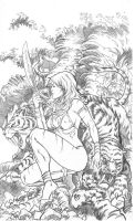 Jungle Girl cover1 by Adrianohq