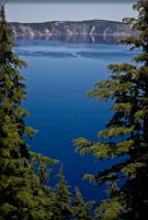 Crater Lake by Deoradhain