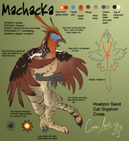 Ref Sheet: Machacka by Wyandotte