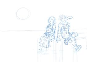 FFX WIP by TheCatlady