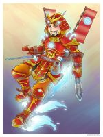 Iron Man, Samurai Style by Saturn-Kitty