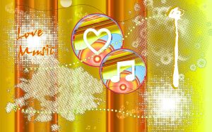 love music wallpaper by tina1138
