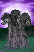 The 3 sisters of death by Infial