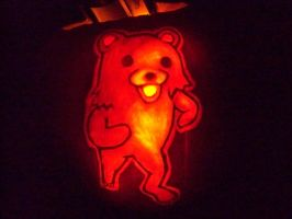 Pedobear Pumpkin by YXZY
