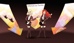 The MonaLisa Twins by NatPal