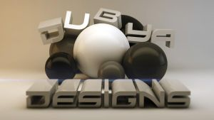 Dubya Designs Cinema 4d logo by editboy23