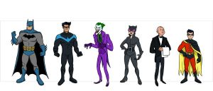 Batman Characters Wave 1. by scootah91