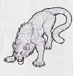 Ball Point Pen Tiger by CatInYourCloset