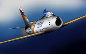Luna F-86 Sabre by Filincool
