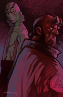 hellboy 20 years by cucomaluco