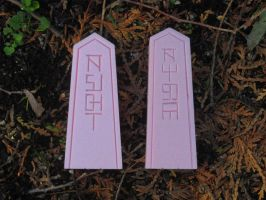 2 More Sigil Stones - Ready to Mold by VictorianSpectre