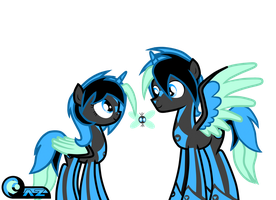 Azure and Azura (R63 and new look) by Azure-Zecron
