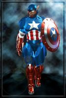 Extreme Captain America by Raddar