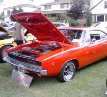 1969 Doge Charger. by catsvsfox