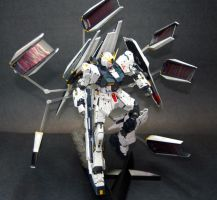 RX-93 Nu Gundam Double Fin Funnel Custom by GeneralMechanics