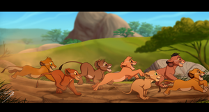 Cub Race by DJ88