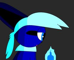 Shade practice: Blue Flame by Rika4