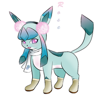 Rose the Glaceon by MattTheUmbreon