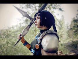 Young ninja - Yuffie cosplay by Narga-Lifestream