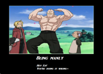 being Manly by kitty14567