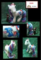 Kaliki - Christmas Stitch pony by Custom-Bunne