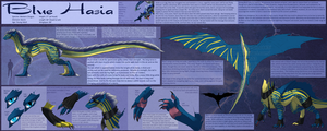 Blue Hasia Ref Sheet (old design) by Bluehasia
