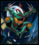 Raphael TMNT- colored by dreamwatcher7