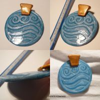 Katara's Necklace by ChibiSilverWings