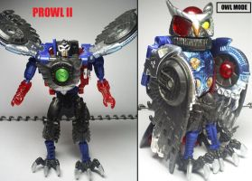 Beast Wars figures: Prowl II. by Lugnut1995