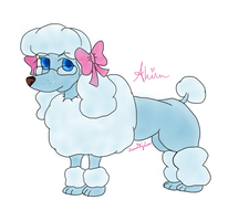 Ahi-Poodle? by xSerenityLove